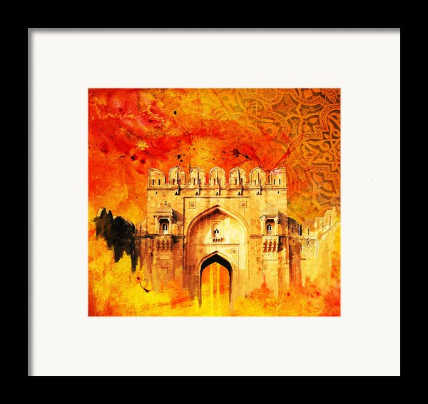 Rohtas Fort 01 Framed Print By Catf