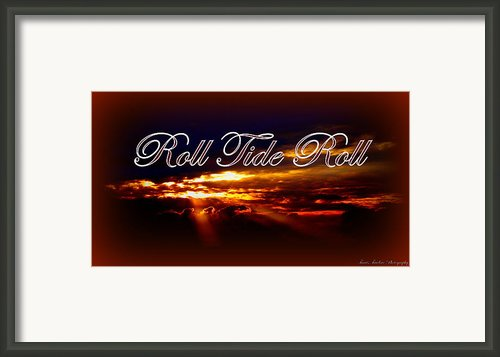 Roll Tide Roll Framed Print By Travis Truelove