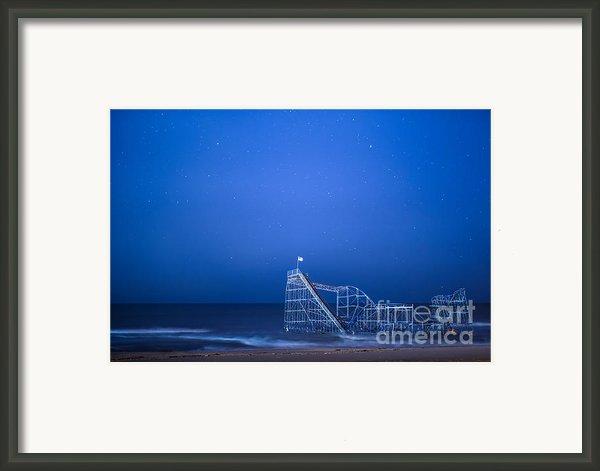 Roller Coaster Stars Framed Print By Michael Ver Sprill