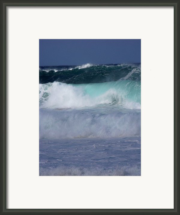 Rolling Thunder Framed Print By Karen Wiles