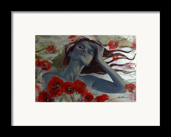 Romance Echo Framed Print By Dorina  Costras
