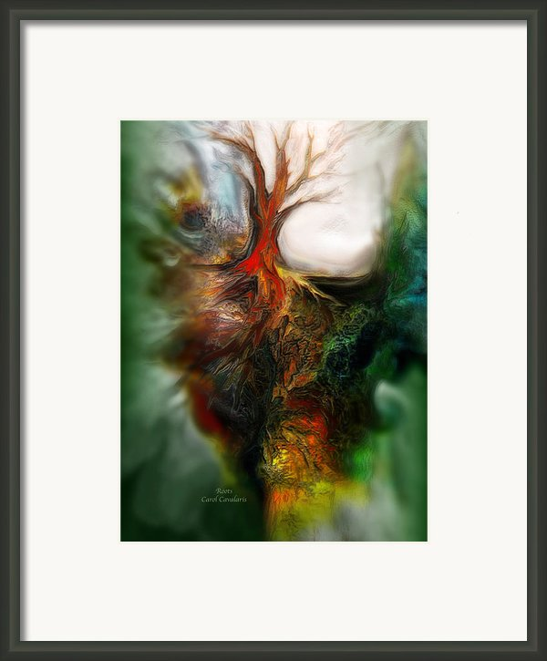 Roots Framed Print By Carol Cavalaris