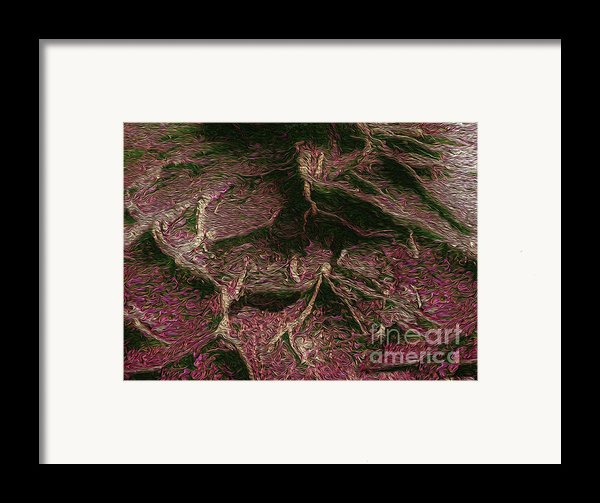 Roots Of Fantasy Framed Print By R Mclellan