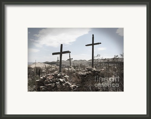 Rosary For The Dead Framed Print By April Davis