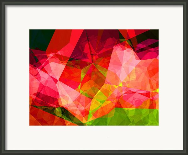 Roses Framed Print By Wendy J St Christopher