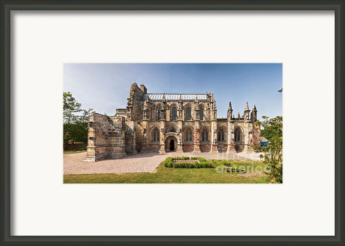 Rosslyn Chapel 01 Framed Print By Antony Mcaulay