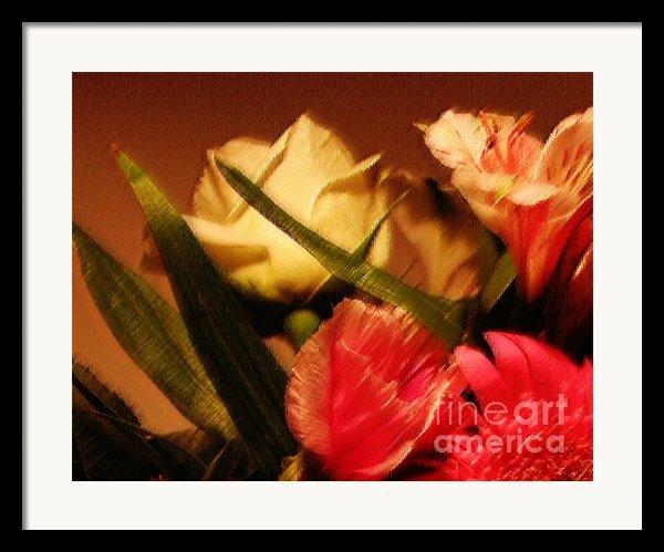 Rough Pastel Flowers - Award-winning Photograph Framed Print By Gerlinde Keating - Keating Associates Inc