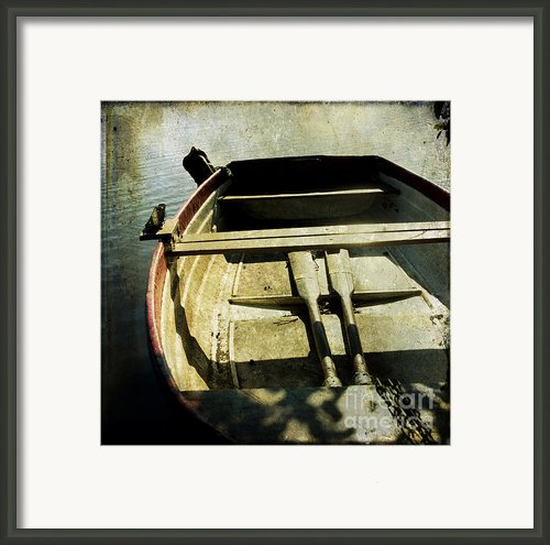 Rowboat Framed Print By Bernard Jaubert