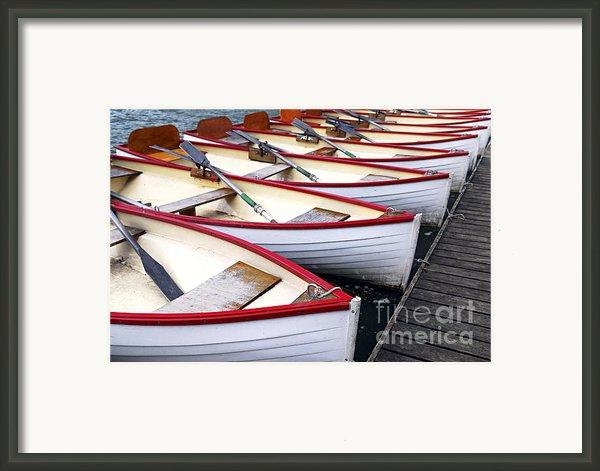 Rowboats Framed Print By Elena Elisseeva
