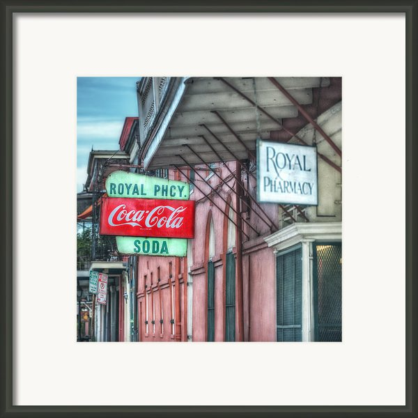 Royal Pharmacy Framed Print By Brenda Bryant