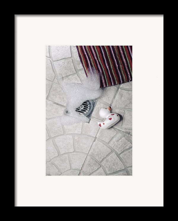 Rubber Duck Framed Print By Joana Kruse