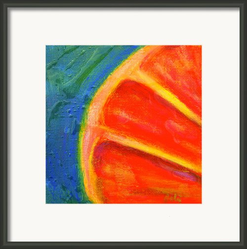 Ruby Red Framed Print By Debi Pople