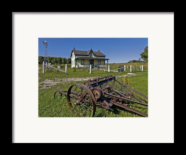 Rural Ontario Framed Print By Steve Harrington