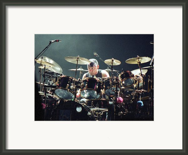 Rush92-neil-a010 Framed Print By Timothy Bischoff