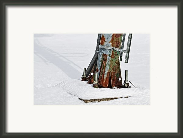 Rust And Snow Framed Print By Cister Vengue