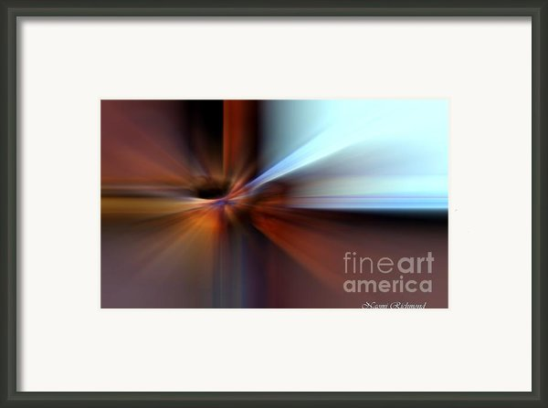 Rust Can Be Beautiful Iii Framed Print By Naomi Richmond