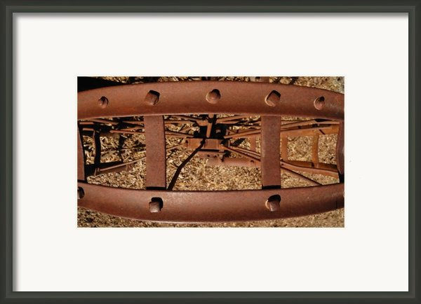 Rusted Deception Framed Print By Steven Milner
