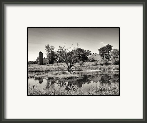 Rustic Charm Framed Print By Tom Druin