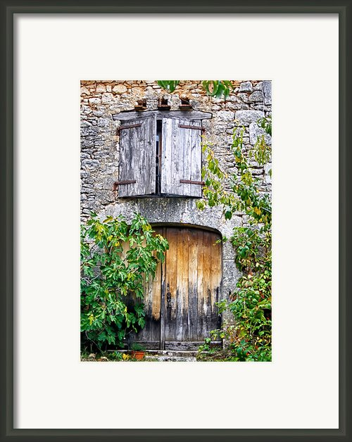Rustic House Framed Print By Georgia Fowler