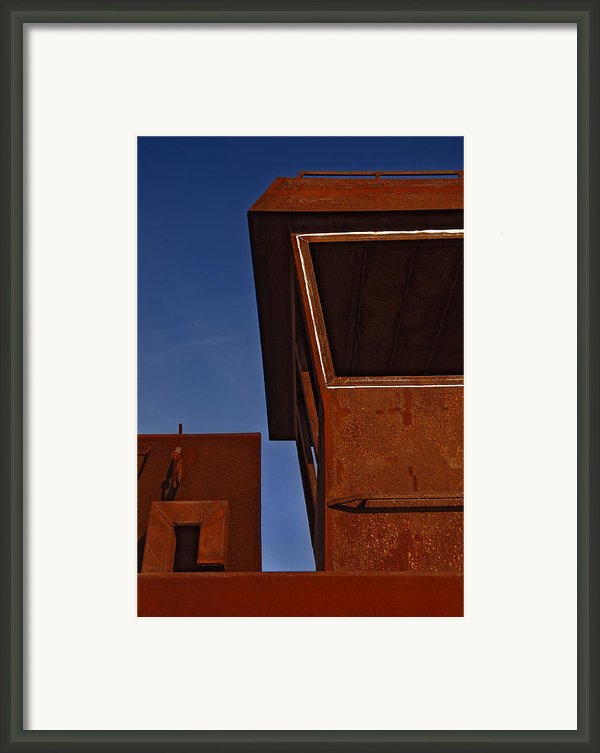 Rusty Boat Framed Print By Murray Bloom