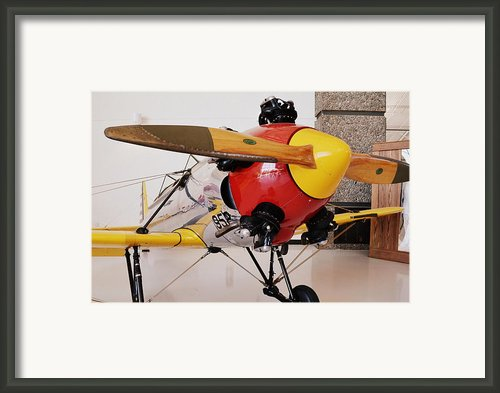Ryan Pt-22 Recruit Framed Print By Michelle Calkins
