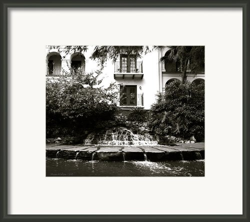 Sa River Walk 001-2013 Framed Print By Shawn Marlow