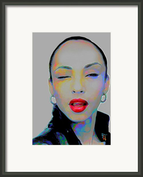 Sade 3 Framed Print By Byron Fli Walker