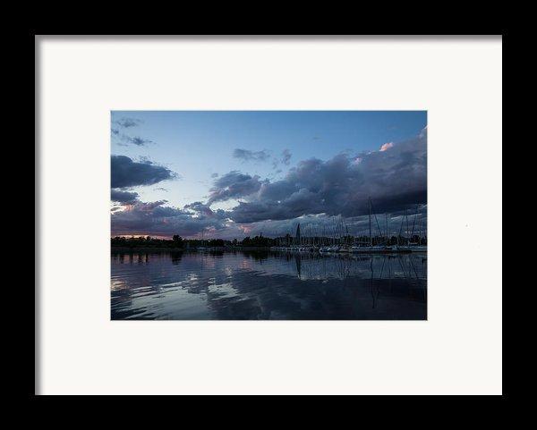 Safe Harbor After The Storm Framed Print By Georgia Mizuleva