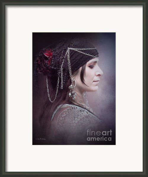 Saffron 3 Framed Print By Jan Pudney