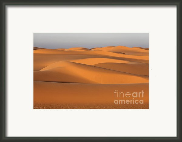 Sahara Desert Dunes Framed Print By Robert Preston