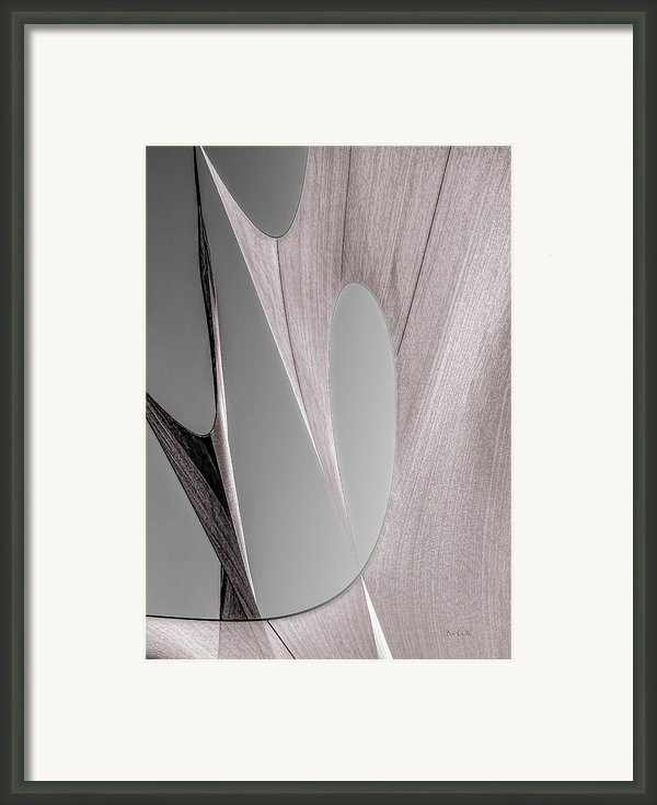 Sailcloth Abstract Number 2 Framed Print By Bob Orsillo