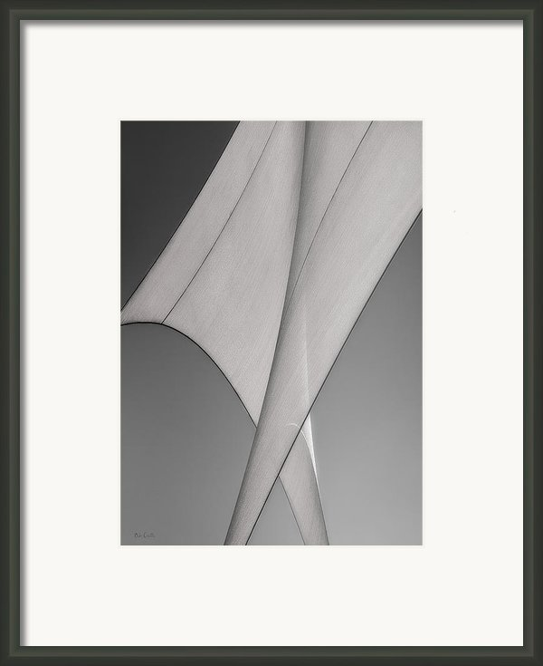 Sailcloth Abstract Number 3 Framed Print By Bob Orsillo