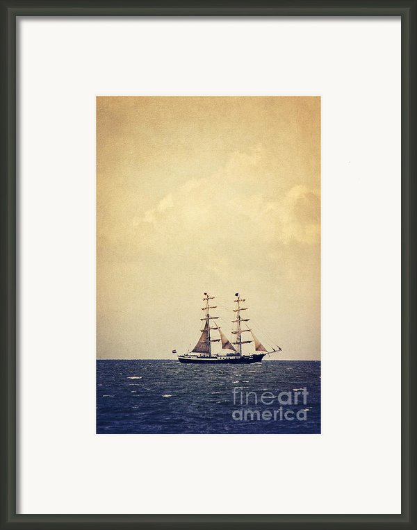 Sailing Ii Framed Print By Angela Doelling Ad Design Photo And Photoart