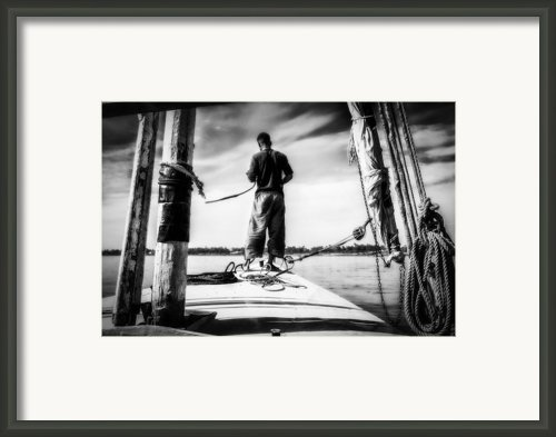 Sailing On The Nile Framed Print By Erik Brede