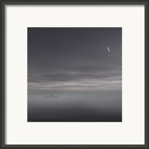 Sailing Solitude Framed Print By Lourry Legarde