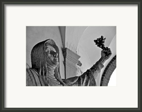 Saint Catherine Of Siena Framed Print By Leslie Lovell
