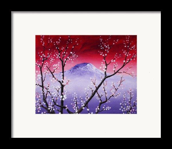 Sakura Framed Print By Anastasiya Malakhova