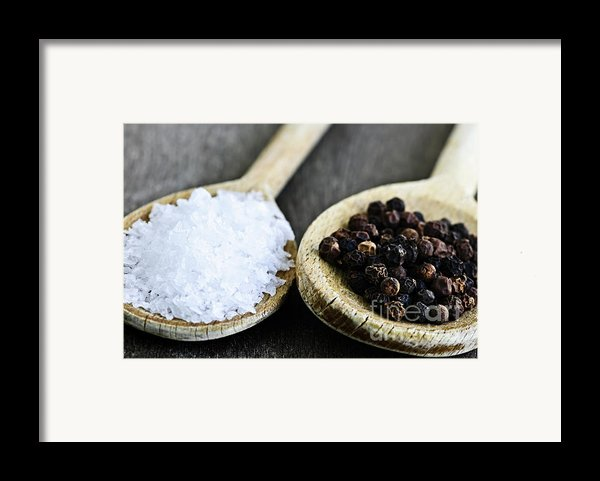 Salt And Pepper Framed Print By Elena Elisseeva