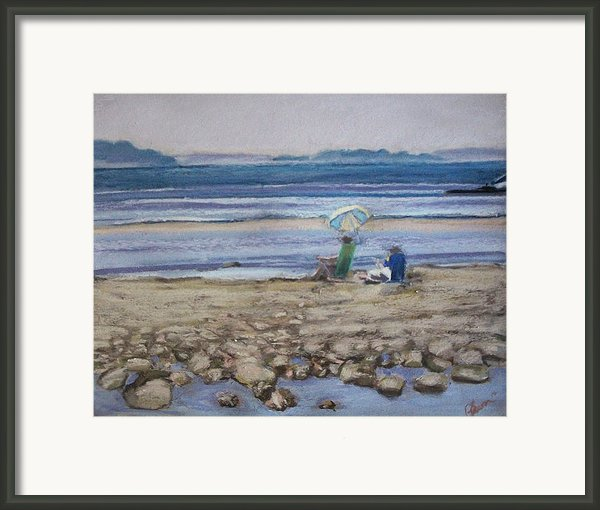 Saltair Framed Print By Grace Keown