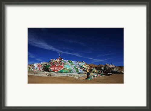 Salvation Mountain Framed Print By Laurie Search