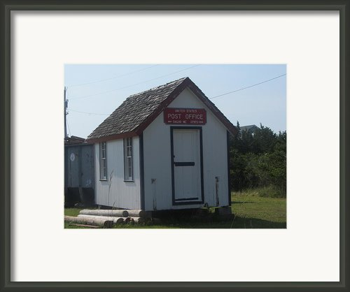 Salvo Post Office 2 Framed Print By Cathy Lindsey