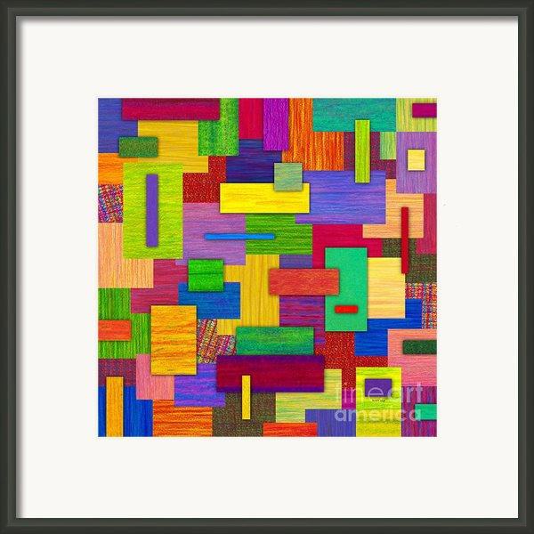 Sampler Framed Print By David K Small