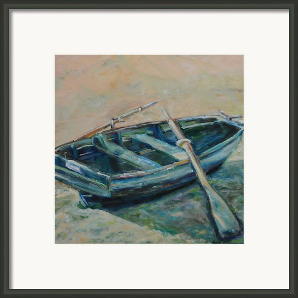 San Francisco Dinghy Framed Print By Susie Jernigan