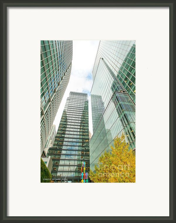 San Francisco Public Spaces Human Sculptures By Jonathan Borofsky Framed Print By Artist And Photographer Laura Wrede