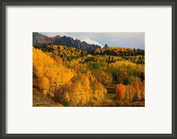 San Juan Mountains In Autumn Framed Print By Jetson Nguyen