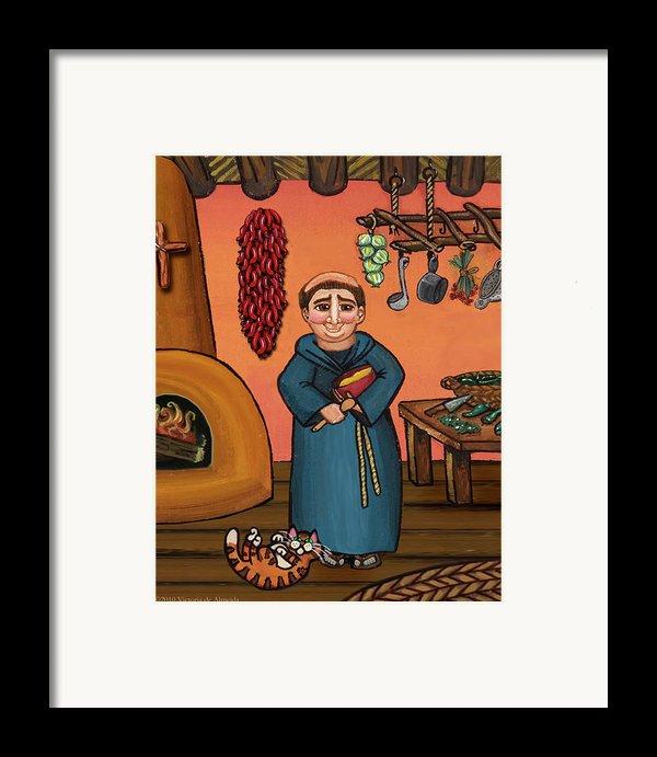 San Pascual And Vigas Framed Print By Victoria De Almeida