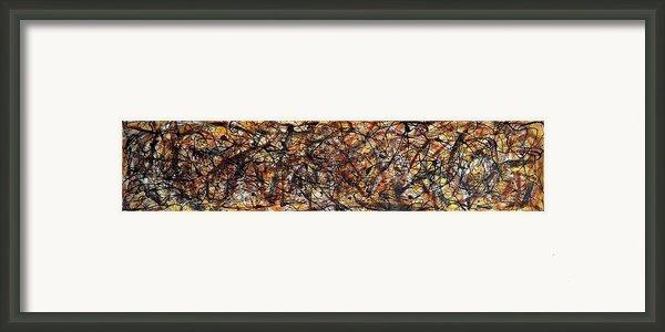 Sandstorm Framed Print By Martina Niederhauser