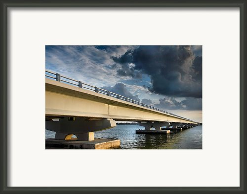 Sanibel Causeway I Framed Print By Steven Ainsworth