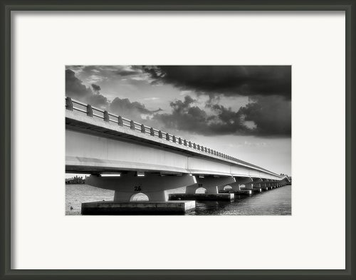 Sanibel Causeway Ii Framed Print By Steven Ainsworth