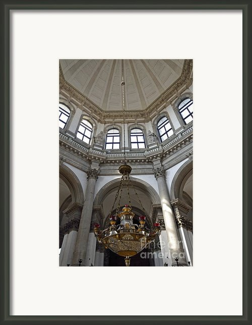 Santa Maria Della Salute Church Framed Print By Sami Sarkis